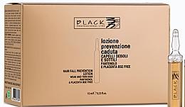 Düfte, Parfümerie und Kosmetik Haarlotion in Ampullen gegen Haarausfall mit Panthenol und Plazenta - Black Professional Line Panthenol & Placenta Lotion