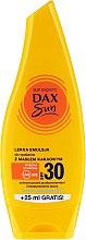 Düfte, Parfümerie und Kosmetik Leichte Bräunungsemulsion mit Kakaobutter - Dax Sun Body Emulsion SPF 30