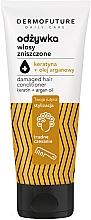 Düfte, Parfümerie und Kosmetik Conditioner für strapaziertes Haar mit Keratin und Arganöl - Dermofuture Daily Care Damaged Hair Conditioner