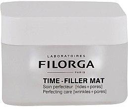 Düfte, Parfümerie und Kosmetik Porenverfeinernde und mattierende Anti-Falten Tagescreme für das Gesicht - Filorga Time-Filler Mat Cream