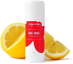 Düfte, Parfümerie und Kosmetik Natürlicher Deostick - Uoga Uoga Bang Bang Natural Deodorant