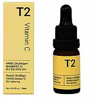 Düfte, Parfümerie und Kosmetik Aufhellendes Gesichtsserum mit Vitamin C gegen PIgmentflecken - Toun28 Solutions T2 Vitamin C Serum