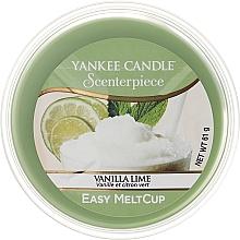 Düfte, Parfümerie und Kosmetik Tart-Duftwachs Vanilla Lime - Yankee Candle Vanilla Lime Melt Cup