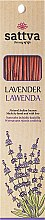 Düfte, Parfümerie und Kosmetik Räucherstäbchen Lavender - Sattva Lavender Incense Sticks