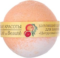 "Düfte, Parfümerie und Kosmetik Badebombe ""Zitrus-Sorbet"" - Le Cafe de Beaute Bubble Ball Bath"