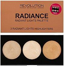 Düfte, Parfümerie und Kosmetik Highlighter-Palette - Makeup Revolution Highlighter Palette