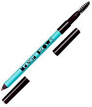 Düfte, Parfümerie und Kosmetik Doppelseitiger Augenbrauenstift - Neve Cosmetics Manga Brows