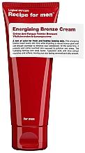 Düfte, Parfümerie und Kosmetik Vitalisierende Bräunungscreme für das Gesicht - Recipe For Men Energizing Bronze Cream