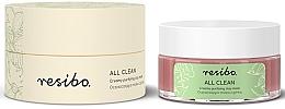 Düfte, Parfümerie und Kosmetik Reinigende Gesichtsmaske mit Tonerde - Resibo All Clean Creamy Purifying Mask