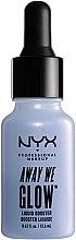 Düfte, Parfümerie und Kosmetik Flüssiger Gesicht-Booster mit Strahleffekt - NYX Professional Makeup Away We Glow Liquid Booster