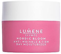 Düfte, Parfümerie und Kosmetik Feuchtigkeitsspendende Tagescreme gegen Falten - Lumene Lumo Nordic Bloom Anti-wrinkle & Firm Day Moisturizer