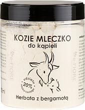 Düfte, Parfümerie und Kosmetik Natürliches Ziegenmilchbad Bergamot Tea - E-Fiore Natural Goat's Bath Milk Bergamot Tea