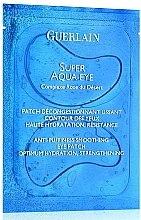 Düfte, Parfümerie und Kosmetik Glättende und feuchtigkeitsspendende Augenpatches gegen Schwellungen - Guerlain Super Aqua-Eye Anti-Puffness Smoothing Eye Patch