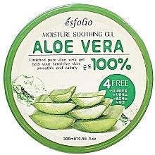Düfte, Parfümerie und Kosmetik Feuchtigkeitsspendendes und beruhigendes Gesichtsgel mit Aloe Vera - Esfolio Moisture Soothing Gel Aloe Vera 100% Purity
