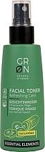 Düfte, Parfümerie und Kosmetik Erfrischendes und pflegendes Gesichtswasser-Spray mit Gurke - GRN Essential Elements Cucumber Toner