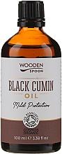 Düfte, Parfümerie und Kosmetik Kaltgepresstes Schwarzkümmelöl - Wooden Spoon Black Cumin Oil