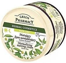 Düfte, Parfümerie und Kosmetik Mattierende und normalisierende Gesichtscreme mit grünem Tee - Green Pharmacy Normalizing Matting Cream