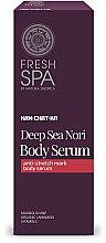 Düfte, Parfümerie und Kosmetik Körperserum gegen Dehnungsstreifen - Natura Siberica Fresh Spa Kam-Chat-Ka Deep Sea Nori Body Serum