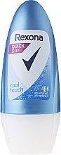 Düfte, Parfümerie und Kosmetik Deo Roll-on Antitranspirant - Rexona Cool Touch Woman Deodorant Roll-On