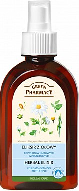 Kräuterelixier für sprödes und strapaziertes Haar - Green Pharmacy