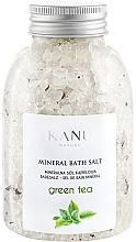 Düfte, Parfümerie und Kosmetik Sól mineralna do kąpieli Zielona herbata - Kanu Nature Mineral Green Tea Bath Salt