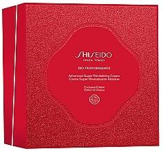 Düfte, Parfümerie und Kosmetik Gesichtspflegeset - Shiseido Bio-Performance Advanced Super Revitalizing Cream Holiday Kit (Revitalisierende Gesichtscreme 50ml + Gesichtsreinigungsschaum 15ml + Gesichtslotion 30ml + Gesichtskonzentrat 10ml)