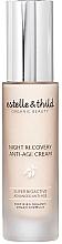 Düfte, Parfümerie und Kosmetik Anti-Aging Nachtcreme - Estelle & Thild Super Bioactive Night Recovery Anti Age Cream