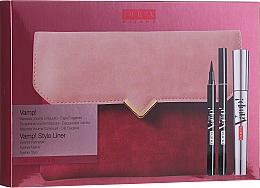 Düfte, Parfümerie und Kosmetik Zestaw do makijażu oka - Pupa Vamp! Vamp! Stylo Liner (mascara/9ml + eye/liner/1.5ml + bag)