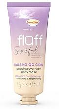 Düfte, Parfümerie und Kosmetik Pflegende und regenerierende Nachtmaske für den Körper mit Kombucha - Fluff Superfood Kombucha Sleeping Overnight Body Mask