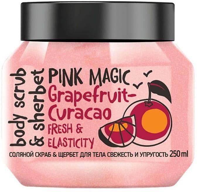 Salz-Körperpeeling-Sorbet mit pink Grapefruit - MonoLove Bio Fresh&Elasticity Body Scrub