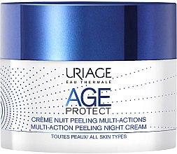 Düfte, Parfümerie und Kosmetik Anti-Aging Nachtcreme mit Peeling-Effekt - Uriage Age Protect Multi-Action Peeling Night Cream