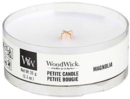 Düfte, Parfümerie und Kosmetik Mini Duftkerze im Glas Magnolia - Woodwick Petite Candle Magnolia