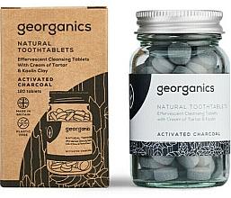 Düfte, Parfümerie und Kosmetik Zahnputztabletten mit Aktivkohle - Georganics Natural Toothtablets Activated Charcoal
