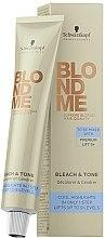 Düfte, Parfümerie und Kosmetik Additiv zur Aufhellung & Nuancierung - Schwarzkopf Professional BlondMe Bleach & Tone