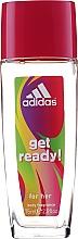 Adidas Get Ready! For Her - Körperpflegeset (Parfümiertes Körperspray 75ml + Duschgel 250ml) — Bild N3