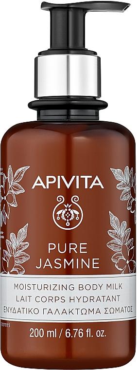 Feuchtigkeitsspendende Körpermilch mit Jasmin - Apivita Pure Jasmine Moisturizing Body Milk