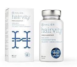 Düfte, Parfümerie und Kosmetik Nahrungsergänzungsmittel mit Kollagen und Aminosäurenkomplex für gesundes Haar und gegen Haarausfall - Halier Hairvity Suplement Women