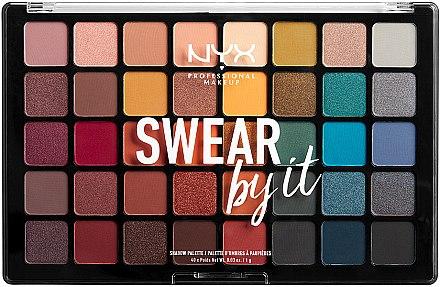 Lidschattenpalette - NYX Professional Makeup Swear By It Shadow Palette
