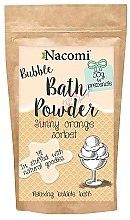 Düfte, Parfümerie und Kosmetik Badepuder mit Orangensorbet Duft - Nacomi Bath Powder