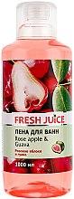 Düfte, Parfümerie und Kosmetik Schaumbad mit Rosenapfel und Guave - Fresh Juice Rose Apple and Guava