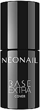 Düfte, Parfümerie und Kosmetik Deckende UV-Nagellack-Basis - NeoNail Professional Base Extra Cover