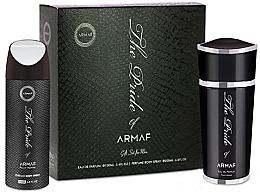 Düfte, Parfümerie und Kosmetik Armaf The Pride Pour Homme - Duftset (Eau de Parfum 100ml + Deospray 200ml)