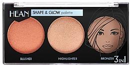Düfte, Parfümerie und Kosmetik Make-up Palette - Hean Shape & Glow Palette