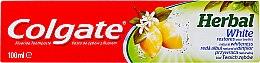 Düfte, Parfümerie und Kosmetik Zahncreme mit aufhellendem Effekt - Colgate Herbal White With Lemon Oil