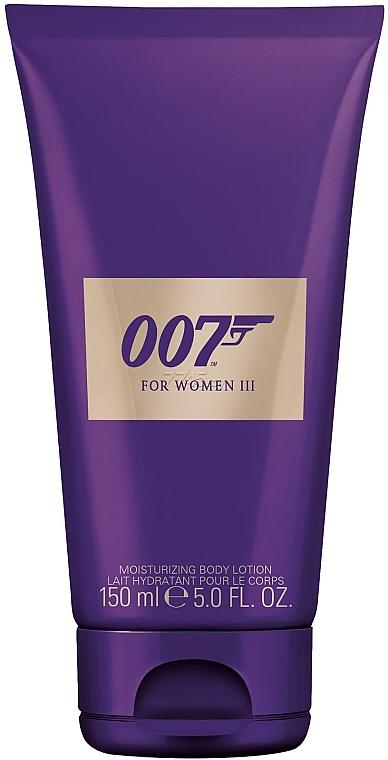 James Bond 007 For Women III - Feuchtigkeitsspendende Körperlotion
