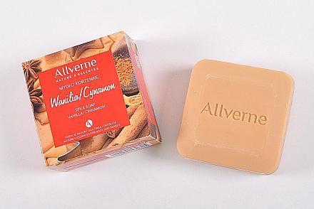 Seife mit Vanille und Zimt - Allverne Nature