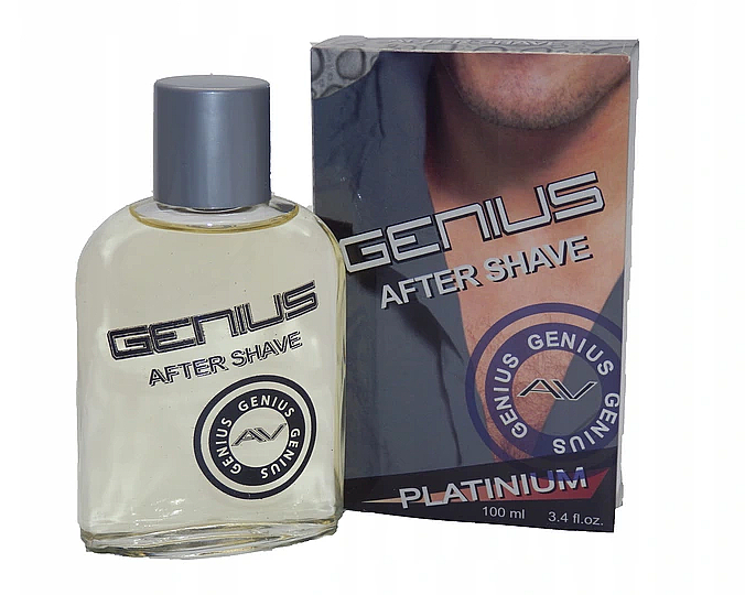After Shave Lotion - Genius Platinium After Shave