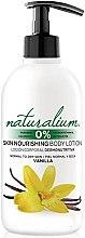 Düfte, Parfümerie und Kosmetik Pflegende Körperlotion für normale und trockene Haut mit Vanilleduft - Naturalium Fruit Pleasure Vanilla Body Lotion