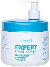 Düfte, Parfümerie und Kosmetik Haarmaske mit Macadamiaöl, Leinöl, Provitamin B5 und Glycerin - New Anna Cosmetics Expert Hair Mask