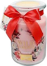 Düfte, Parfümerie und Kosmetik Duftkerze im Glas Wild Garden Peonies 10x16 cm 700 g - Artman Wild Garden Peonies